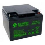 Аккумуляторная батарея (АКБ) BСP28-12 (12В 28Ач); габариты 175х166х125 (ДхШхВ, мм)