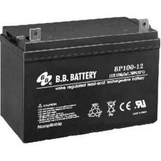 Аккумуляторная батарея (АКБ) BP100-12 (12В 100Ач); габариты 329х172х238 (ДхШхВ, мм)