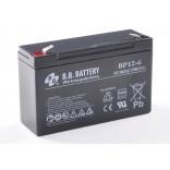 Аккумуляторная батарея (АКБ) BP12-6 (6В 12Ач); габариты 151х50х100 (ДхШхВ, мм)
