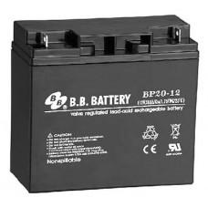 Аккумуляторная батарея (АКБ) BP20-12 (12В 20Ач); габариты 181х76х166 (ДхШхВ, мм)