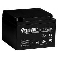 Аккумуляторная батарея (АКБ) BP26-12 (12В 26Ач); габариты 175х166х125 (ДхШхВ, мм)