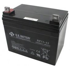 Аккумуляторная батарея (АКБ) BP33-12 (12В 33Ач); габариты 195х129х179 (ДхШхВ, мм)