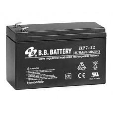 Аккумуляторная батарея (АКБ) BC7-12 (12В 7Ач); габариты 151х65х100 (ДхШхВ, мм)
