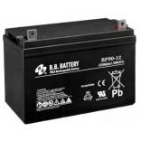 Аккумуляторная батарея (АКБ) BP90-12 (12В 90Ач); габариты 329х170х238 (ДхШхВ, мм)