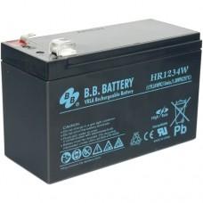 Аккумуляторная батарея (АКБ) BB HR1234W (12В 7Ач); габариты 151х65х100 (ДхШхВ, мм)
