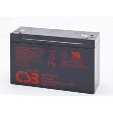 Аккумуляторная батарея (АКБ) GP6120 (6В 12Ач); габариты 151х50х100(ДхШхВ,мм)