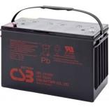 Аккумуляторная батарея (АКБ) GP121000 (12В 100Ач); габариты 342х170х217(ДхШхВ, мм)