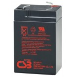Аккумуляторная батарея (АКБ) GP645 (6В 4,5Ач); габариты 70х48х108(ДхШхВ,мм)