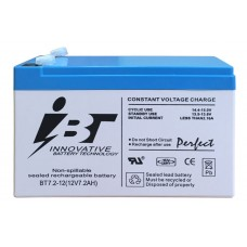 Аккумуляторная батарея BT7,2-12 (12В 7,2Ач); 151х65х99(ДхШхВ, мм)