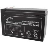 Аккумуляторная батарея DJW12-7 / LP12-9 (12В 7Ач); 151х65х94+4(ДхШхВ, мм)
