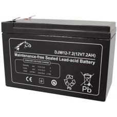 Аккумуляторная батарея DJW12-7 (12В 7Ач); 151х65х100(ДхШхВ, мм)
