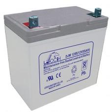 Аккумуляторная батарея DJM 1255 (12В 55Ач); 129х138х211(ДхШхВ, мм)