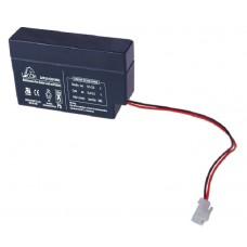 Аккумуляторная батарея DJW12-0.8 (12В 0,8Ач); 96х25х62(ДхШхВ, мм)