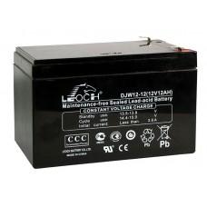 Аккумуляторная батарея DJW12-12 (12В 12Ач); 151х98х101(ДхШхВ, мм)