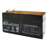 Аккумуляторная батарея DJW12-1.3 (12В 1,3Ач); 97х43х58(ДхШхВ, мм)