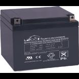 Аккумуляторная батарея DJW12-28 (12В 28Ач); 166х175х125(ДхШхВ, мм)