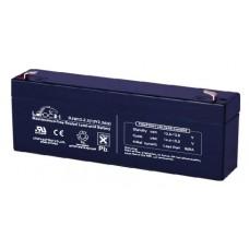 Аккумуляторная батарея DJW12-2.3 (12В 2,3Ач); 178х35х66(ДхШхВ, мм)