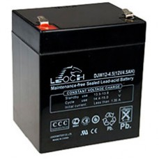 Аккумуляторная батарея DJW12-4.5 (12В 4,5Ач); 90х70х107 (ДхШхВ, мм)