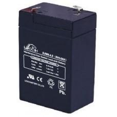 Аккумуляторная батарея DJW6-4.5 (6В 4,5Ач); 70х47х106(ДхШхВ, мм)