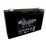 Аккумуляторная батарея DJW6-7 (6В 7Ач); 151х34х100(ДхШхВ, мм)