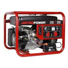 Генератор бензиновый UNITED POWER GG4500E (3,8кВт, однофазный)
