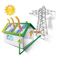 Сетевая солнечная станция 10 кВт. Зеленый тариф, 3Ф, 11050 кВт*ч